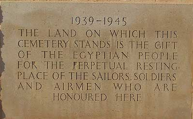 British Memorial Plaque