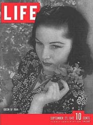 Princess Fawzia on cover of Life