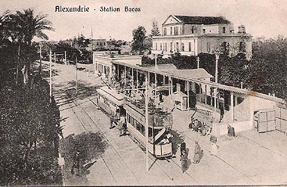 Bacos railway Station in 1920s