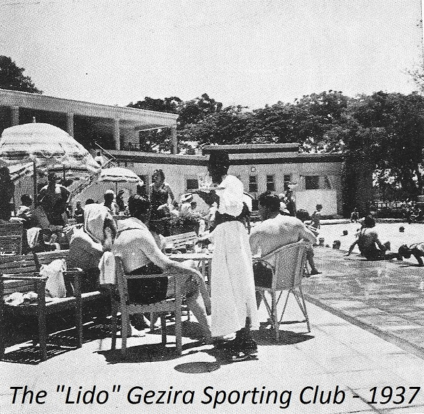 Gezira Sporting Club clubhouse - 1937